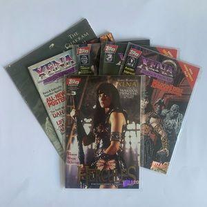 Xena Warrior Princess Lot of 6 Comics and Magazine